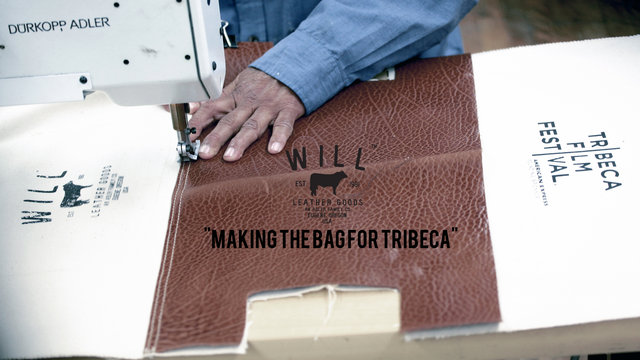 Video | Will Leather Goods for Tribeca Film Festival 2011 Bag