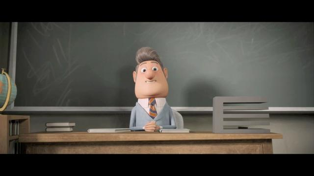 Rough Animation Test for Mayor Shelbourne
