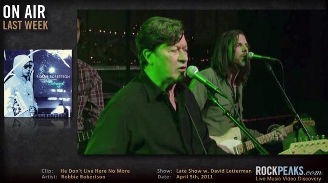 Vlog 035 - Robbie Robertson | Paul Simon | Amy MacDonald | Foo Fighters | Patti Smith Group