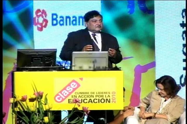 Sugata Mitra - Minimal Invasive Education (español)