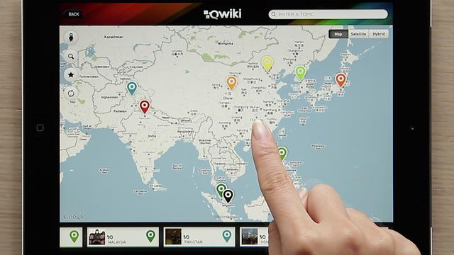 Qwiki iPad App Demo