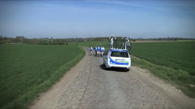 Surviving the Pavé 1 - Paris-Roubaix 2011 with Team NetApp