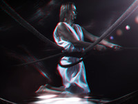 Found 3D anaglyph by Brian Bowman