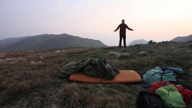 Microadventure 3: Sleep on a Hill
