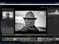 How to create an Identity Plate in Adobe Lightroom