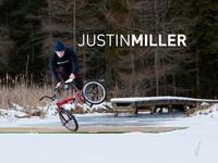Justin Miller Flatland BMX Snow Session