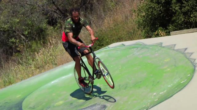 Keo Curry Rides LA - Fixed Gear Freestyle