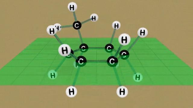 Methylcyclohexane Conformations