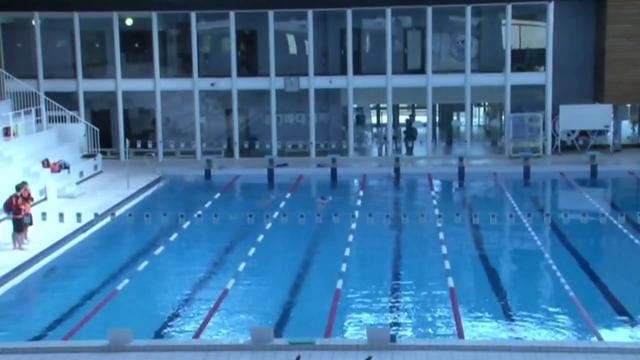 Pr sentation de la piscine de boulogne billancourt on vimeo for Aquabiking boulogne billancourt piscine