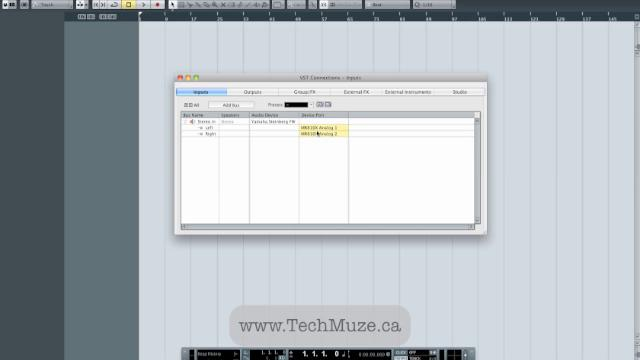 Stem Summing In Cubase 6