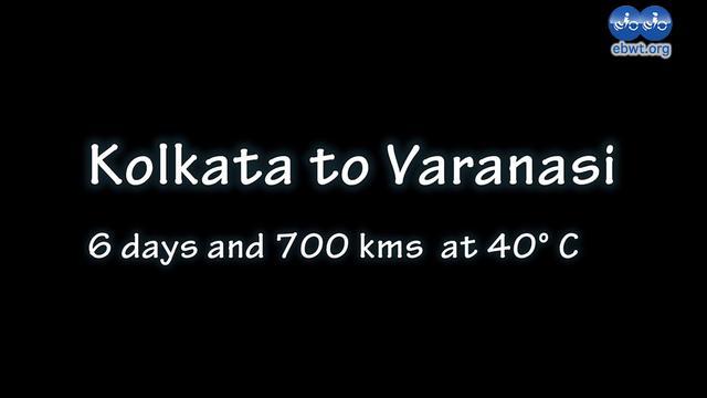 Kolkata to Varanasi