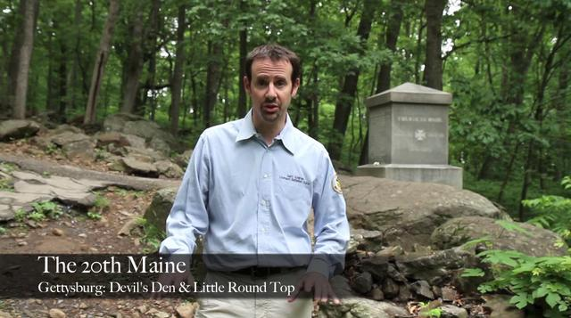 Gettysburg Battle App Preview: The 20th Maine at Little Round Top