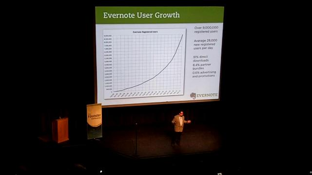 Phil from Evernote - FounderConference