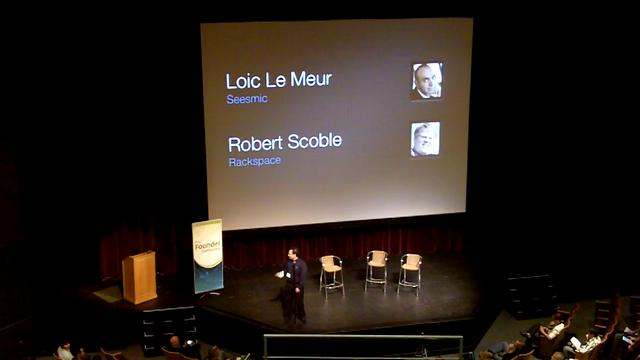 Robert Scoble and Loc LeMuir - FounderConference