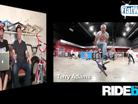 FlatWebTV Episode #5 GoodsBMX - Terry Adams Interview - JoMoPro & Ninja Spin.