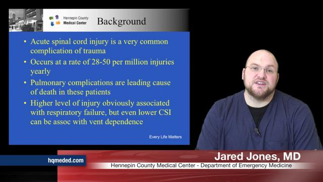 Predicting the Need for Intubation in Patients with Spinal Cord Injury