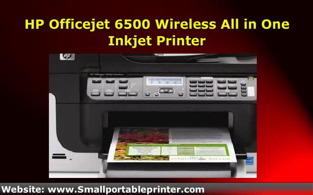 how to connect hp officejet 6500 wireless