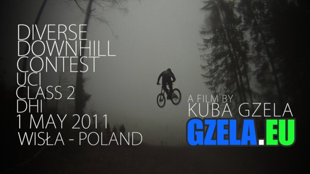 Diverse Downhill Contest - UCI 2 - Wisła - Poland - 1 May 2011