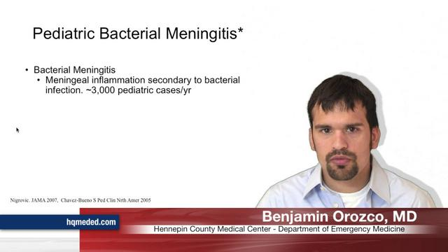 Pediatric Bacterial Meningitis