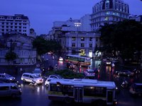 Hanoi Opera House Traffic Circle 2009