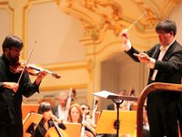 Violinist Leonidas Kavakos performs in Hamburg