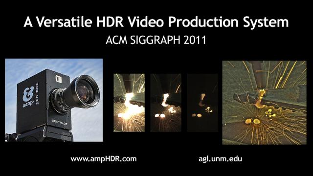 A Versatile HDR Video Production System