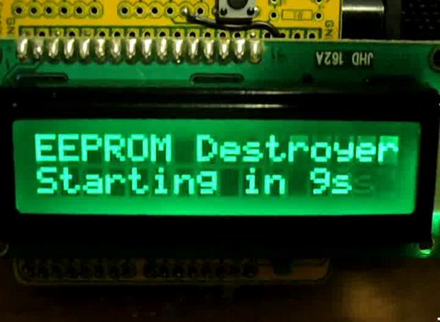 Write String to Arduino EEPROM