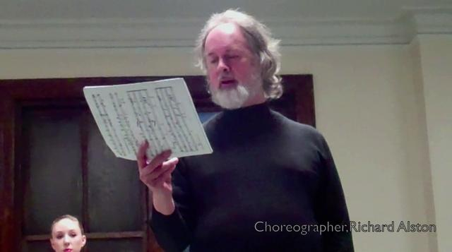 Richard Alston, celebrated choreographer and artistic director of The Place in London