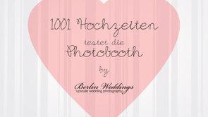 Beispiel: 1001 Hochzeiten testet die Hochzeits Photobooth, Video: Berlin Weddings Hochzeitsfotografie.