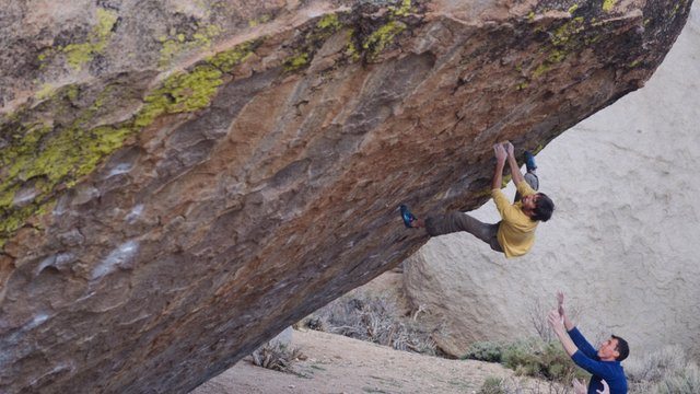 VIDEO PROFILE: BD athlete Kevin Jorgeson bouldering at the Buttermilks
