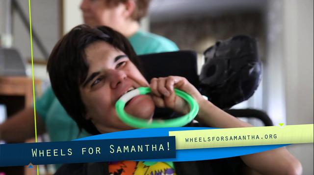 Wheels for Samantha
