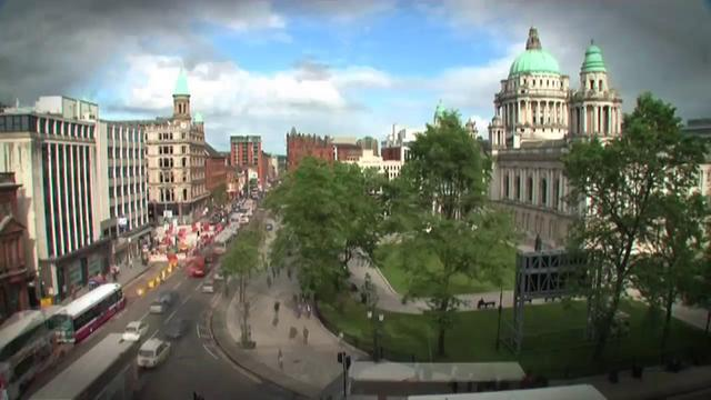 Belfast City Centre Timelapse
