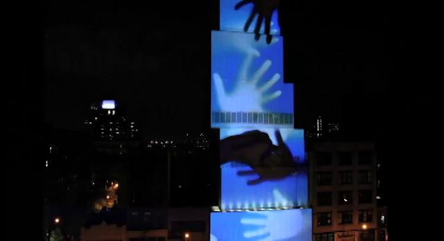 """New Museum Projection Mapping - """"Let Us Make Cake"""""""