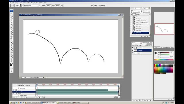 how to open animation frames in photoshop