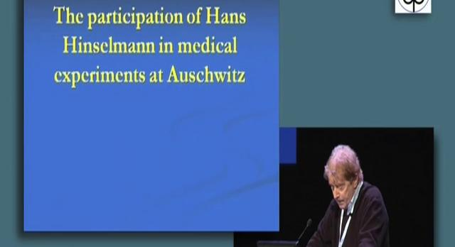 The participation of Hans Henselmann in medical experiments at Auschwitz - Alan Naftalin