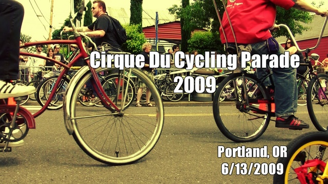 Cirque du Cycling Bike Parade