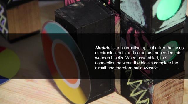 Modulo/interactive optical color mixer