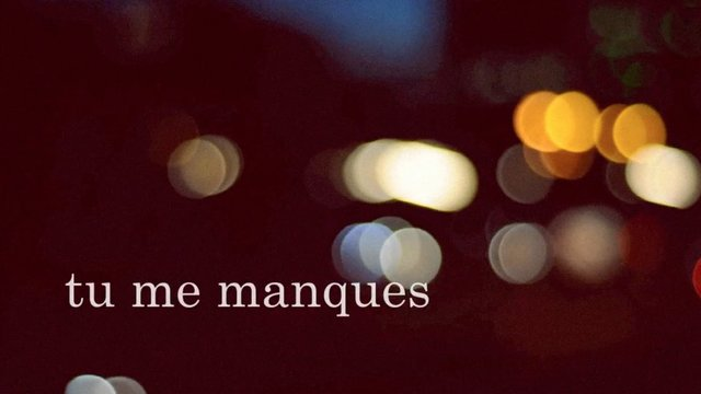 Tu me manques pictures for Tu me chambres