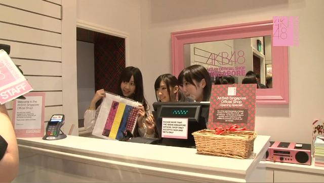 Making of AKB48 Singapore's first theater 'live' and official shop!(HD)