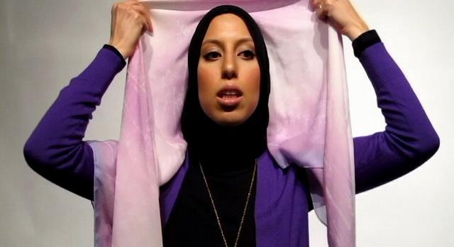 Bow Square Scarf Hijab Tutorial - Haute Hijab