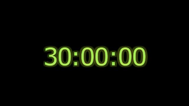 countdown timer 40 minutes