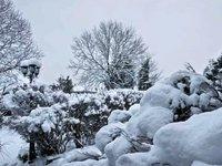 A Snowy English Village