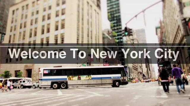 NYC Tourist Timelapse