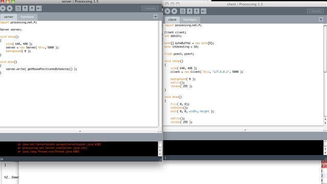 Processing Client/Server