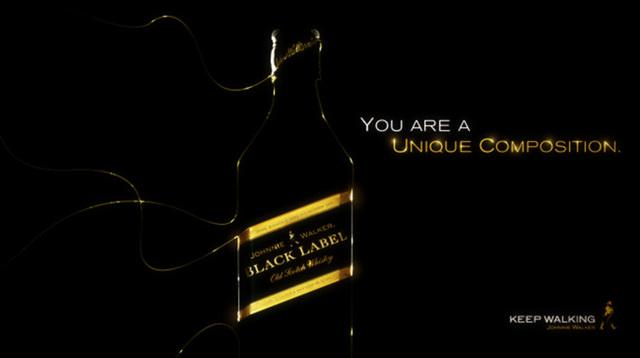 Johnnie Walker Black Label / Unique Composition ...