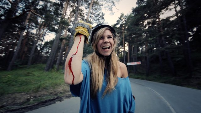 Longboard Girls Crew Carving the Mountains