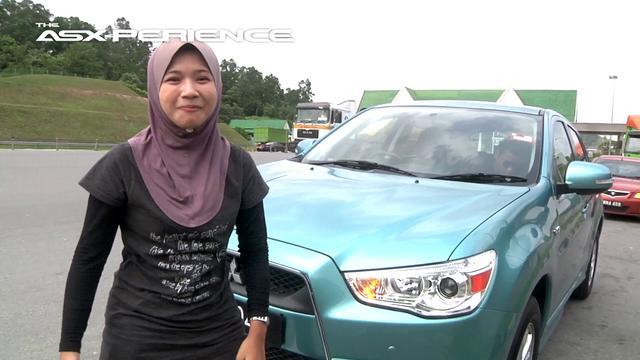 Mitsubishi ASX-PERIENCE : Three's Not A Crowd - Norzalina Yusof (2011)