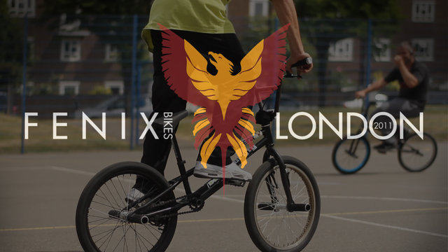 A Tape - Fenix Bikes - London/2011 - Viki Gomez & Phil Dolan Flatland Session