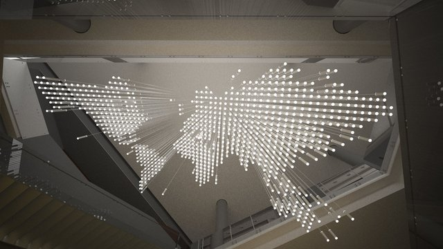 CSIS Global Data Chandelier