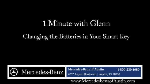 How to replace the battery in your mercedes benz smart key for How to change mercedes benz key battery